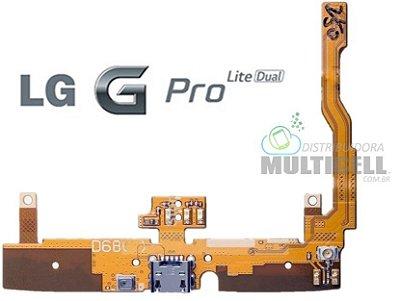 FLEX DOCK CONECTOR DE CARGA LG D680 D685 D686 LG GPRO LITE DUAL ORIGINAL