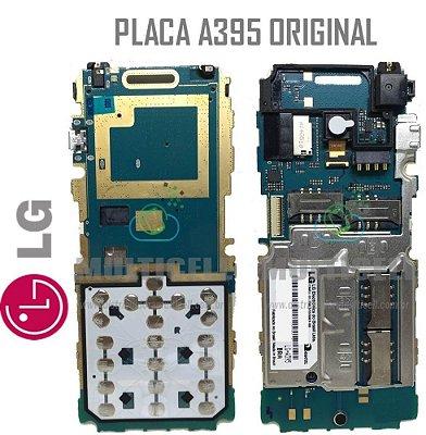 PLACA LÓGICA MÃE PRINCIPAL LG A395 4 CHIP ORIGINAL