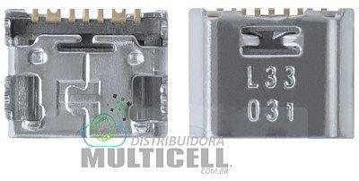 CONECTOR DE CARGA USB SAMSUNG G360 G361 I8550 I8552 I9060 I9063 I9080 I9082 T110 T111 T113 T114 T115 T116 T560 T561 T580