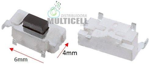 BOTÃO TECLA POWER ON/OFF UNIVERSAL PARA TABLET MODELO 6 X 4mm