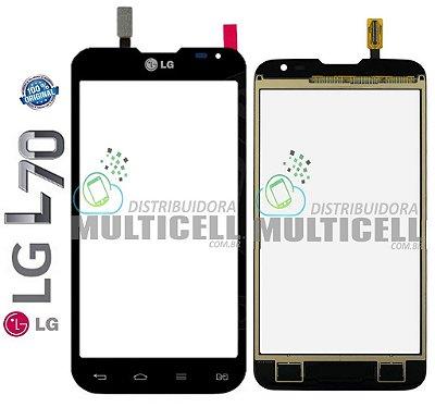 TELA TOUCH SCREEN LG D325 D340 L70 DUAL PRETO 100% ORIGINAL  EBD61726302