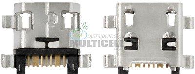 CONECTOR USB DOCK DE CARGA SAMSUNG G110 I9190 I9192 I9195 I8260 I8262 S5310 S5312 S6310 S6312 S6313 S6293 ORIGINAL