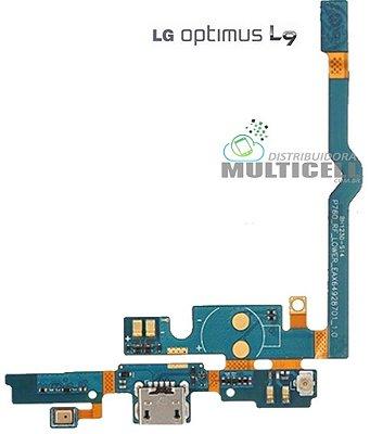 FLEX DOCK CONECTOR DE CARGA E MICROFONE P760 P768 LG L9 ORIGINAL