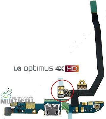 FLEX DOCK CONECTOR DE CARGA E MICROFONE P880 LG OPTIMUS 4X HD ORIGINAL