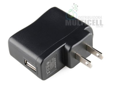 FONTE USB UNIVERSAL 5.0V 1A PRETA