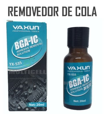 REMOVEDOR DE COLA PARA TOUCH SCREEN YAXUN YX-535 20ml ORIGINAL