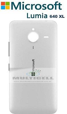 TAMPA TRASEIRA MICROSOFT LUMIA 640 XL BRANCA