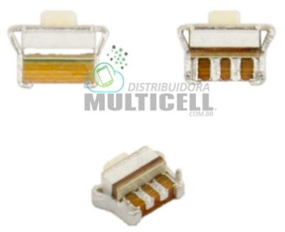TECLA BOTÃO POWER VOLUME ON/OFF S5300 S5301 S5302 S5303 S5830 S5830i S6102 S6352 S6802 B5512 B7722 C3312 C3330 C3752 E2530 I8510 S3350 S5250