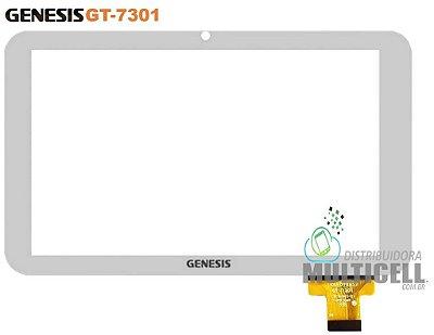 TELA TOUCH SCREEN TABLET GENESIS GT-7301 GT7301 7' BRANCA ORIGINAL
