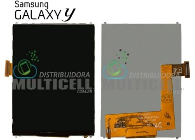 DISPLAY LCD SAMSUNG S6102 GALAXY Y 1ªLINHA AAA
