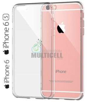 CAPA CASE TPU SILICONE 100% TRANSPARENTE APPLE IPHONE 6 6S