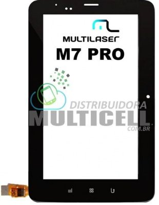 TELA TOUCH SCREEN MULTILASER NB032 M7 PRO PRETO ORIGINAL