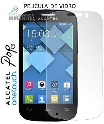 PELICULA DE VIDRO ALCATEL OT-4033 4033 POP C3 2,5mm (SEM EMBALAGEM)