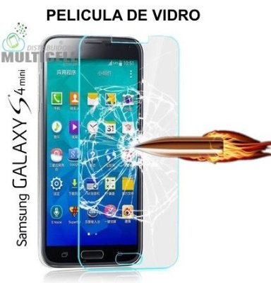 PELICULA DE VIDRO SAMSUNG I9190 I9192 GALAXY S4 MINI 2,5mm