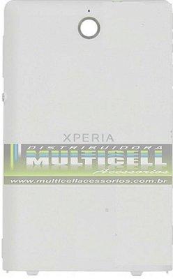 TAMPA TRASEIRA DA BATERIA SONY C1503/C1504/C1604/C1605 XPERIA E BRANCA