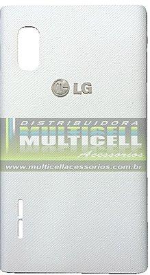 TAMPA TRASEIRA DA BATERIA LG E612/E615 L5 BRANCA