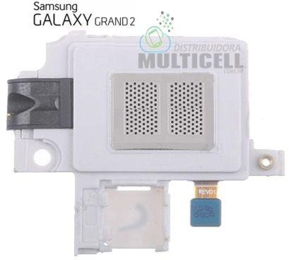CAMPAINHA ALTO FALANTE E CONECTOR FONE DE OUVIDO SAMSUNG G7102 G7106 GALAXY GRAND 2 ORIGINAL