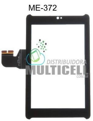 TELA TOUCH SCREEN ASUS ME372 ME 372 FONE PAD 7' PRETO ORIGINAL