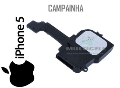 CAMPAINHA APLLE IPHONE 5G ORIGINAL