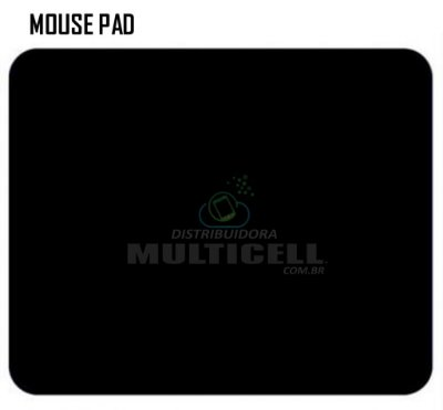 MOUSE PAD SIMPLES PRETO