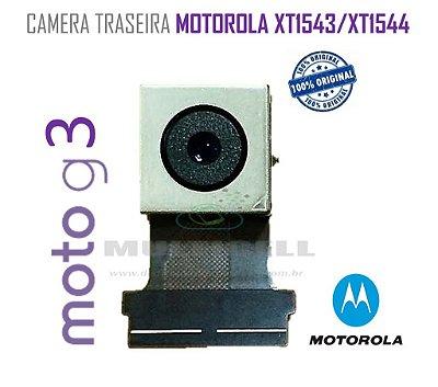 CAMERA TRASEIRA MOTOROLA XT1543/XT1544 MOTO G 3ª GERAÇÃO ORIGINAL