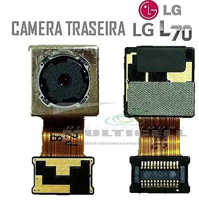 CAMERA TRASEIRA LG D320/D325 L70 ORIGINAL