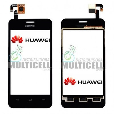 TELA TOUCH SCREEN HUAWEI Y320 ASCEND PRETO ORIGINAL