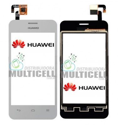 TELA TOUCH SCREEN HUAWEI Y320 ASCEND BRANCO ORIGINAL