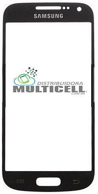VIDRO FRONTAL SAMSUNG I9500/I9505 S4 AZUL ORIGINAL