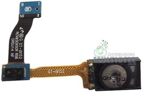 """FLEX ALTO FALANTE AURICULAR SAMSUNG I9150 I9152 GALAXY MEGA 5.8"""" 1ªLINHA"""