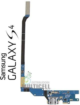 FLEX DOCK CONECTOR DE CARGA E MICROFONE I9500 GALAXY S4 1ªLINHA