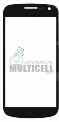 VIDRO FRONTAL I9250 SAMSUNG GALAXY NEXUS PRETO ORIGINAL