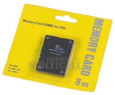 MEMORY CARD PLAYSTATION 2 8MB