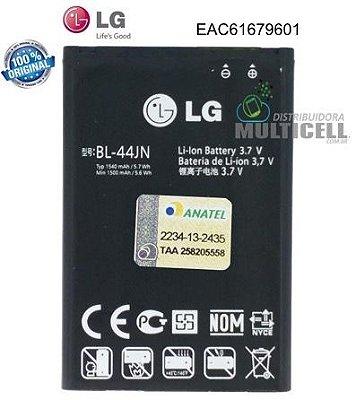 BATERIA LG BL-44JN BL44JN A290 A390 A395 C299 E400 E405 E610 E615 E510 L5 L3 100% ORIGINAL (EAC61679601)