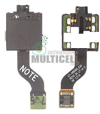 """FLEX CONECTOR FONE DE OUVIDO SAMSUNG N8000 GALAXY TAB 10.1"""" ORIGINAL"""