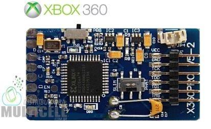 CHIP DE DESBLOQUEIO XBOX X360 PRO V5-2 SLIM CORONA TRINDADE JASPE FALCÃO ZEPHYR XENON