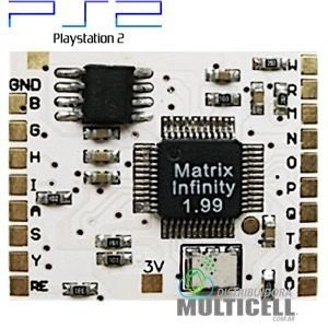 CHIP DE DESBLOQUEIO MATRIX INFINITY 2.0 PARA PS2 PLAYSTATION 2
