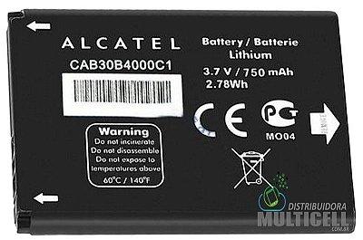 BATERIA ALCATEL OT-255 OT-600a OT-383a OT-206 CAB30B4000C1 ORIGINAL