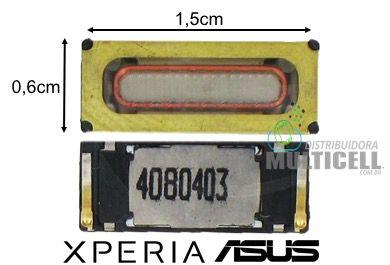 ALTO FALANTE AURICULAR XPERIA E3 E2303 E2353 M4 ASUS ZENFONE 2 4 5 6 1ªLINHA AAA