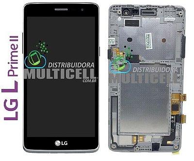 GABINETE FRONTAL TOUCH SCREEN LG X150 X170 X170FTV LPRIME II ORIGINAL