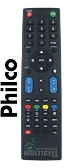 CONTROLE REMOTO TV LCD LED PHILCO PH32M  PH42M SKY-7981 REM-8040 1ªLINHA