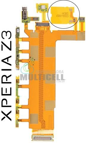 FLEX POWER VOLUME VIBRA D6643 D6633 XPERIA Z3  (1CHIP) ORIGINAL
