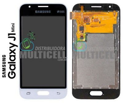 GABINETE FRONTAL LCD DISPLAY TELA MODULO COMPLETO SAMSUNG J105 GALAXY J1 MINI 100% ORIGINAL
