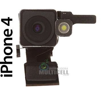 CAMERA TRASEIRA APPLE A1332 IPHONE 4 ORIGINAL