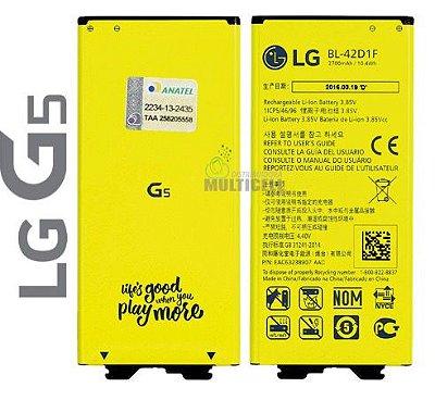 BATERIA DE LITION H840 H820 H860 H830 LS992 Bl-42D1F LG G5 H840 LS992 AMARELA ORIGINAL