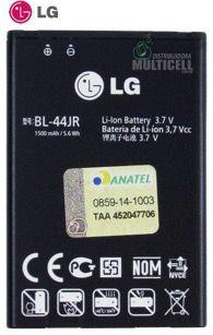 BATERIA LG BL-44JR BL44JR BL 44JR P940 D157 D160 D170 D175 L40 L35 EAC62019014 ORIGINAL