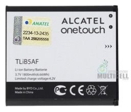 BATERIA ALCATEL ONE TOUCH TLIB5AF OT-997 OT997 5035 5036 5037 POP C5 ORIGINAL