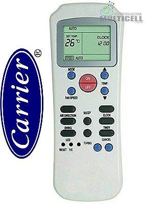 CONTROLE PARA AR CONDICIONADO CARRIER, SPRINGER R14A/CE SKY-7070