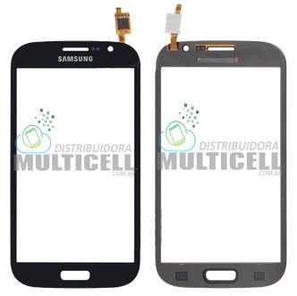 TELA TOUCH SCREEN SAMSUNG I9080 I9082 GRAND DUOS AZUL 1ªLINHA
