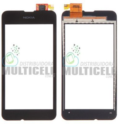 TELA TOUCH SCREEN NOKIA LUMIA 530 RM-1020 PRETO 1ªLINHA